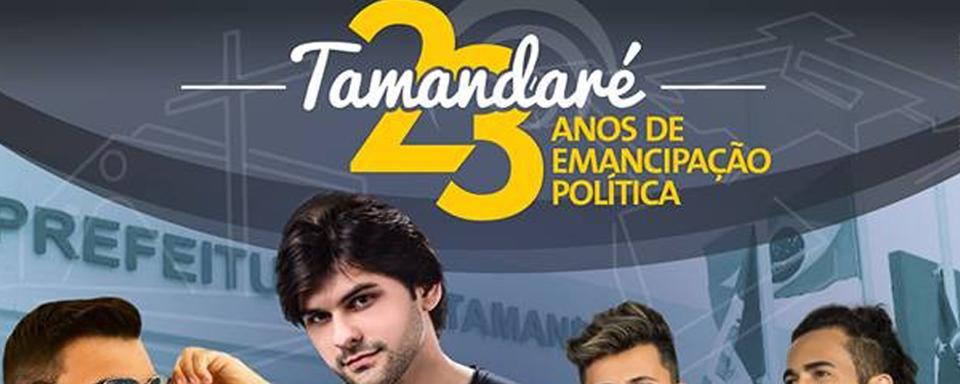 28/09 Tamandaré comemora 23 anos de Emancipação Política